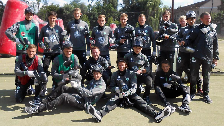 VFL Wolfsburg II zu Gast bei Paintball Günzburg
